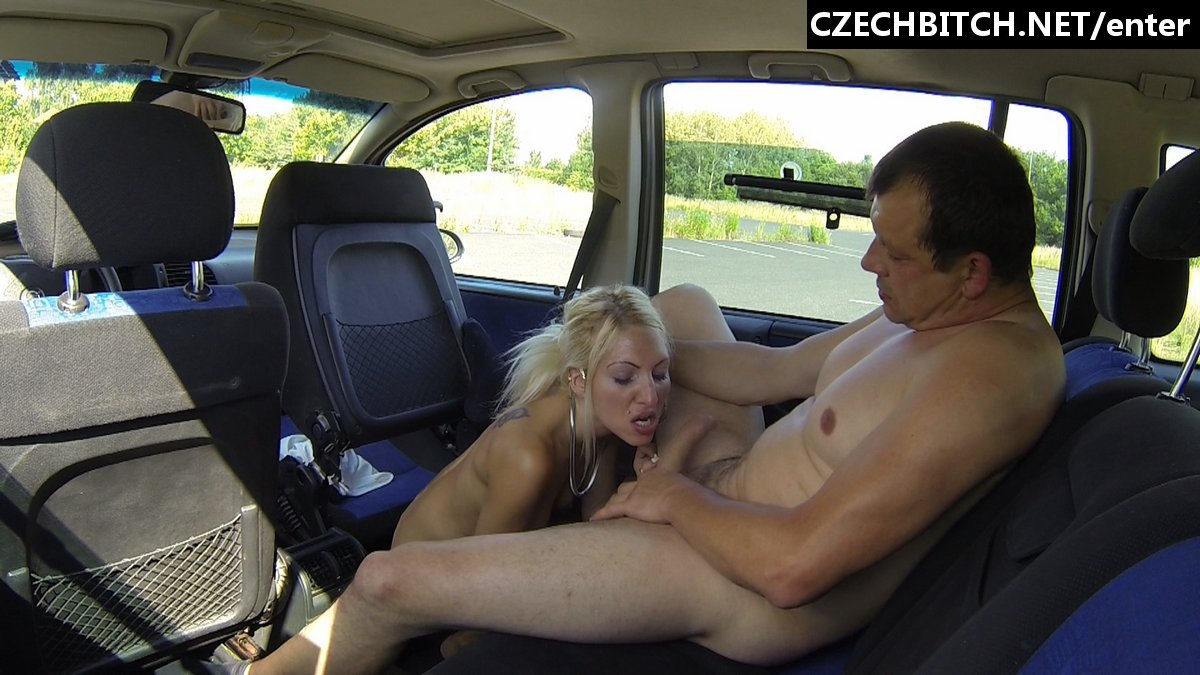 Czech bitch in car mom and chum039s daughter